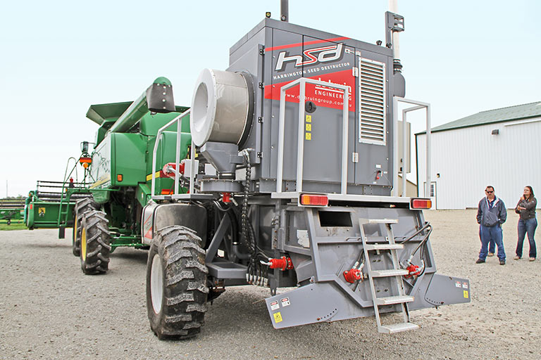 The Harrington Seed Destructor